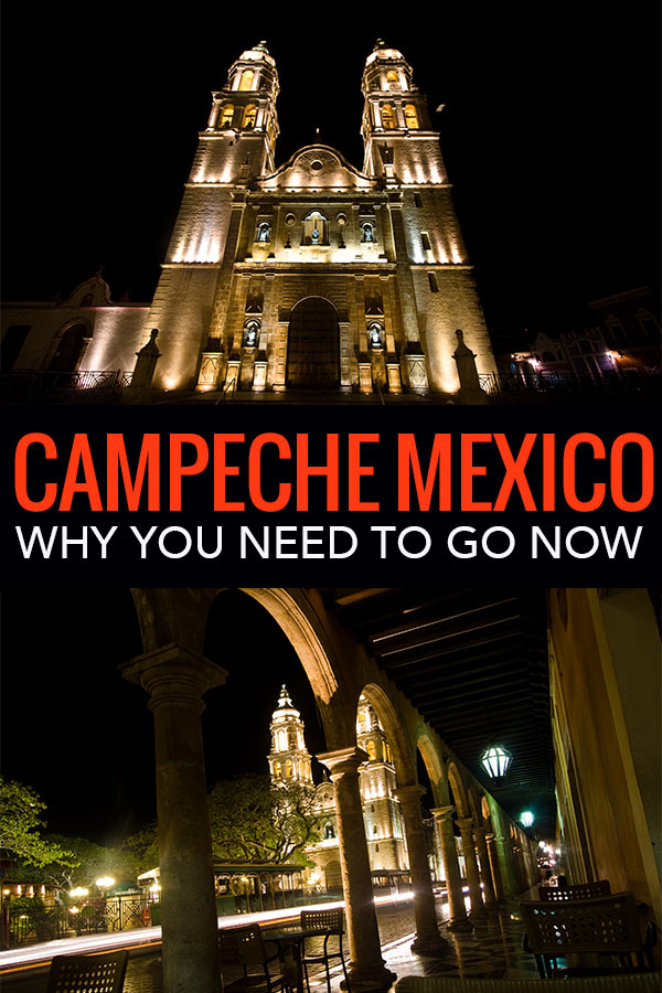 Campeche is an underrated city in Mexico. Near Merida, very few tourists visit this beautiful city but there are many reasons to go.