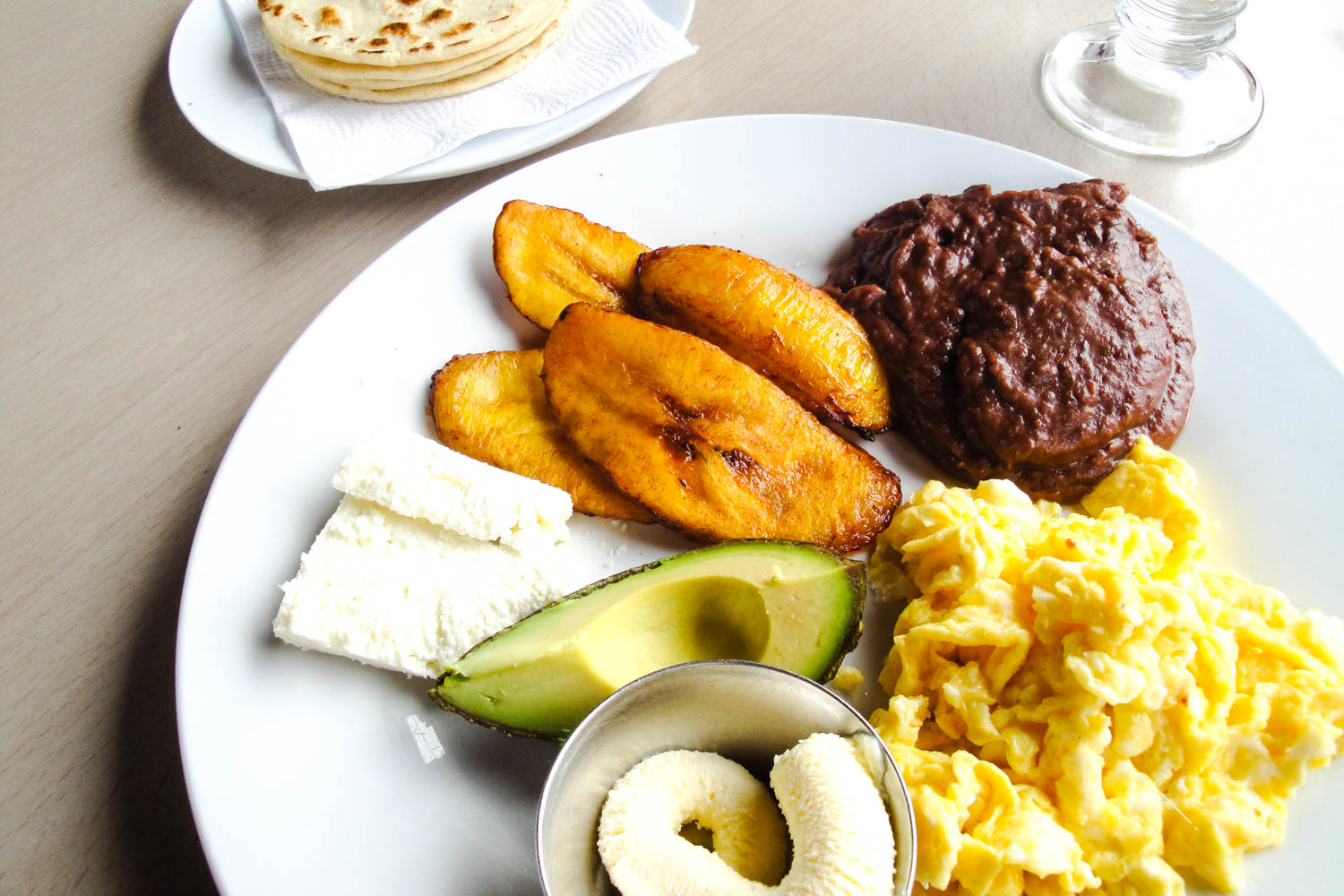 Desayuno tipico or typical breakfast in Honduran cuisine is one of the best ways to start the day.