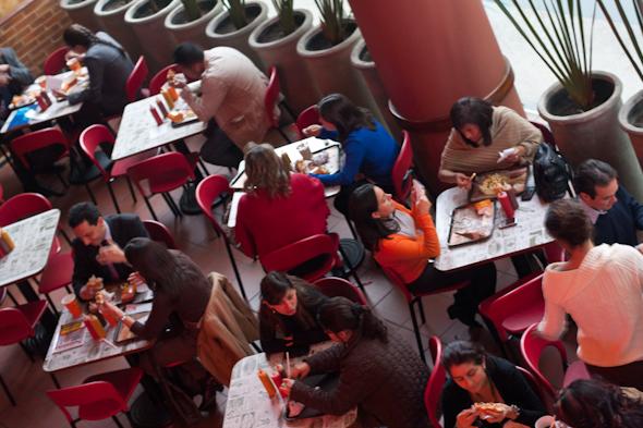 El Corral Restaurant Interior