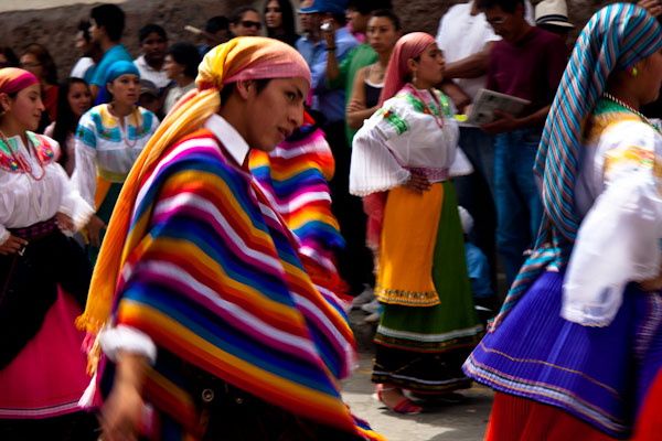 Ecuadorian Dancer