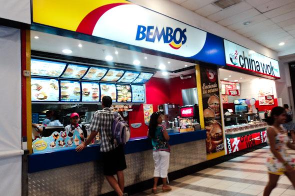 Is Peruvian Bembos better than McDonald's?