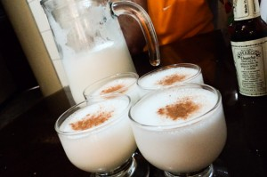 A simple pisco sour recipe that local Peruvians taught me in Lima, Peru.