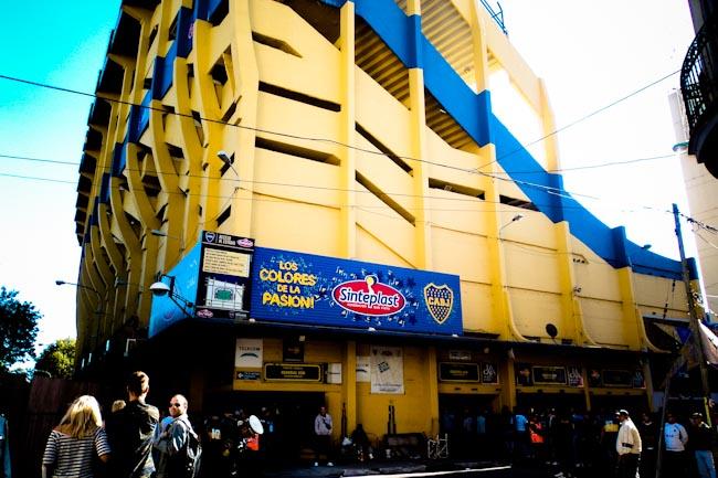 Boca Jr stadium