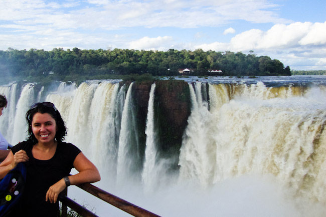 iguazu me at devils mouth