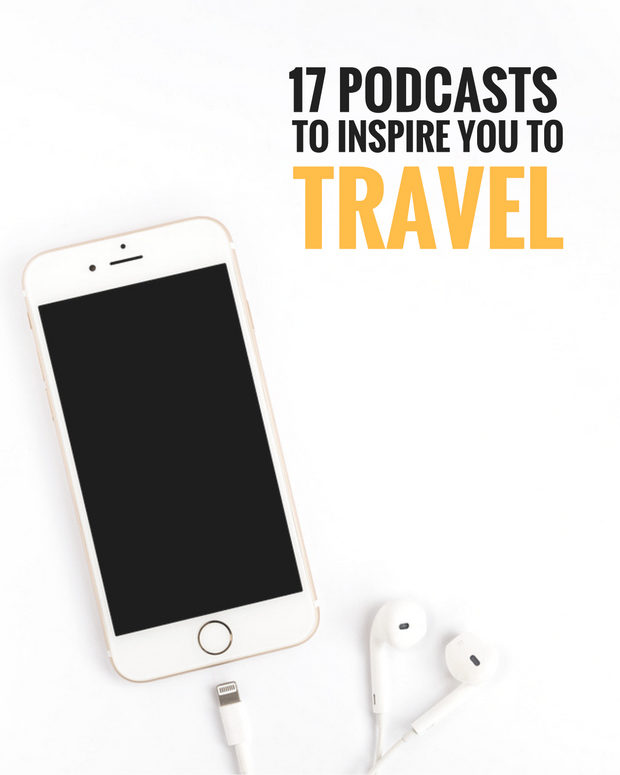 17 of the best travel podcasts to inspire you to take your dream vacation this year. These podcasts tell you how to plan, what to pack and even how to travel on a budget.