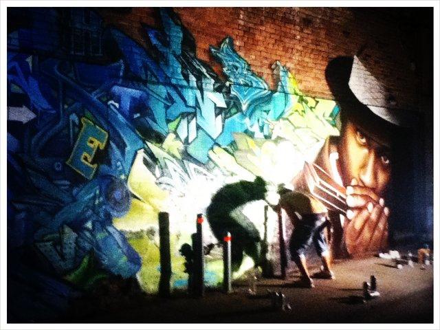 montreal graffiti artist