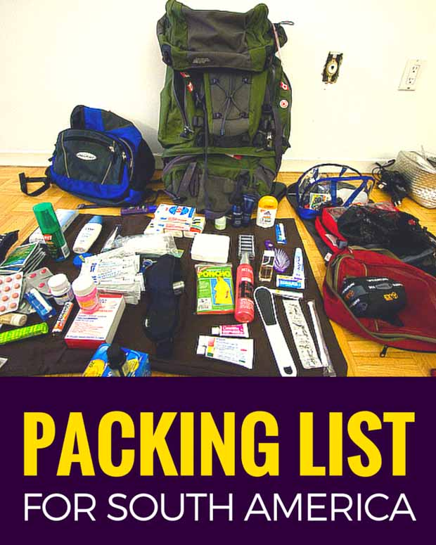 fcbe07d426d4c6 What to pack for travel in South America  Learn from my mistakes. Nearly a