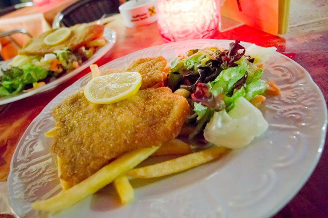 Food Photo Friday: wiener schnitzel