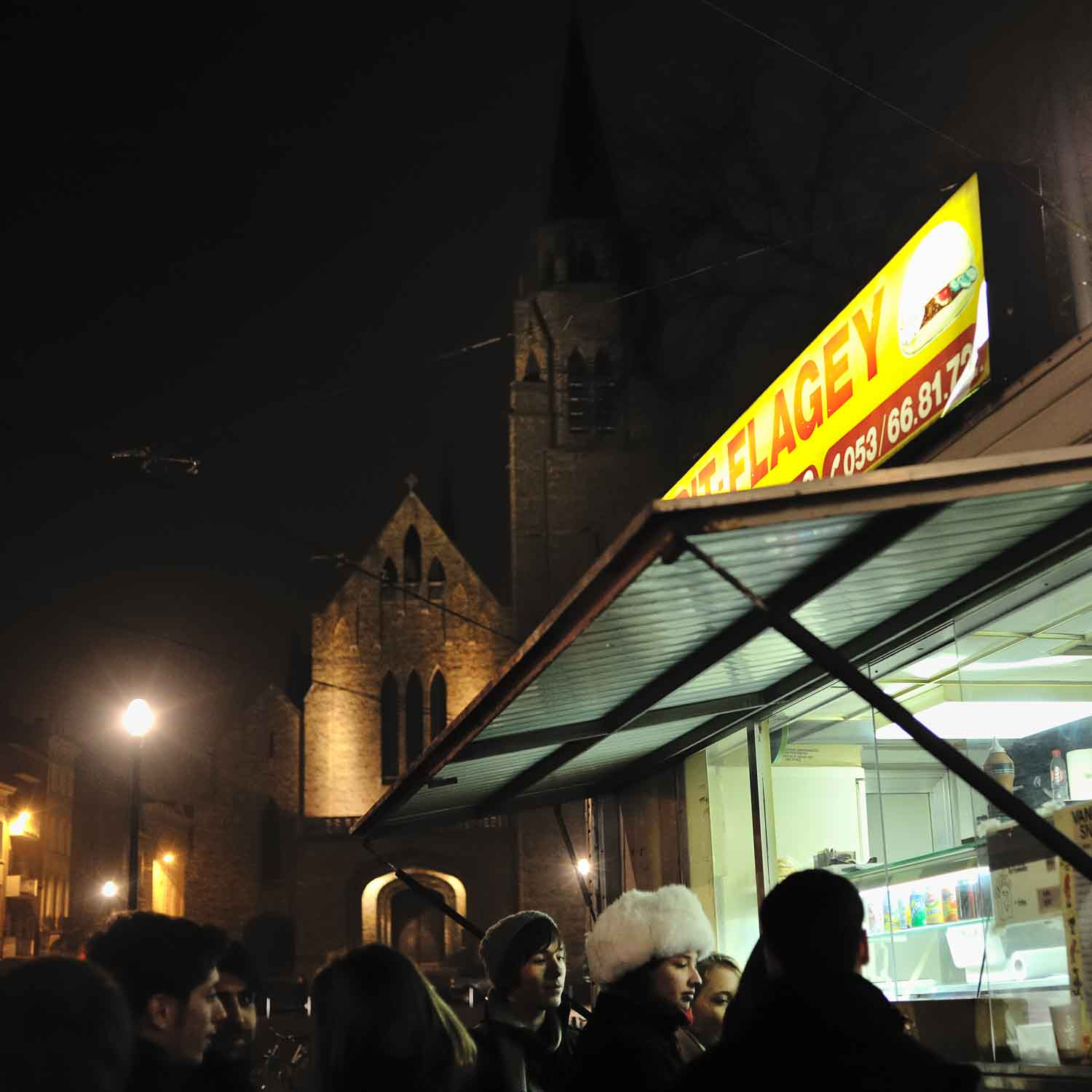 Frit Flagey's is popular for fries in Brussels.