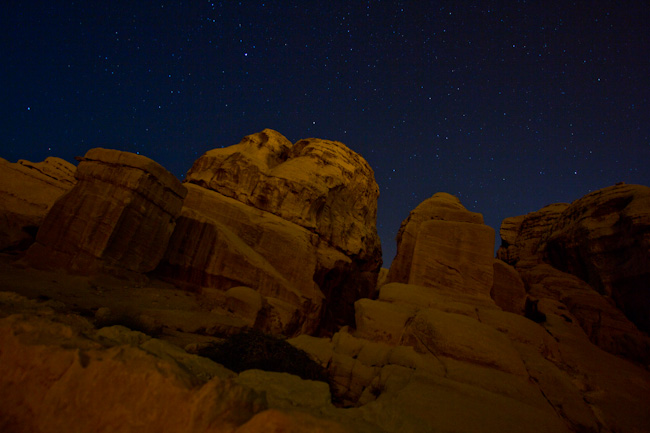 petra jordan by night