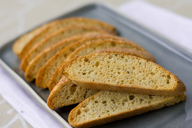 An easy black pepper biscotti recipe with cheese that even a beginner baker can make.