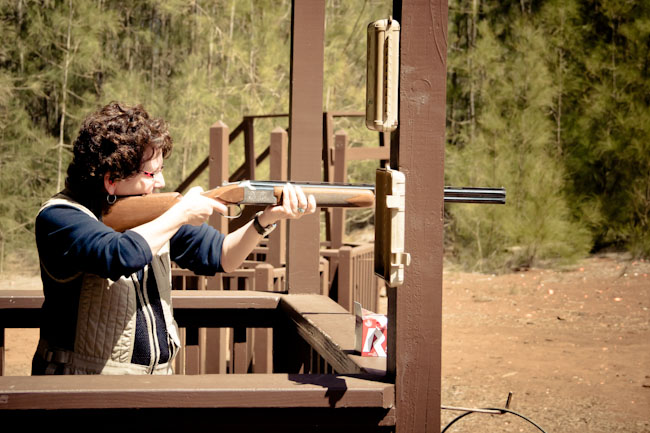 My Mother the Assassin: Clay Shooting in Lana'i