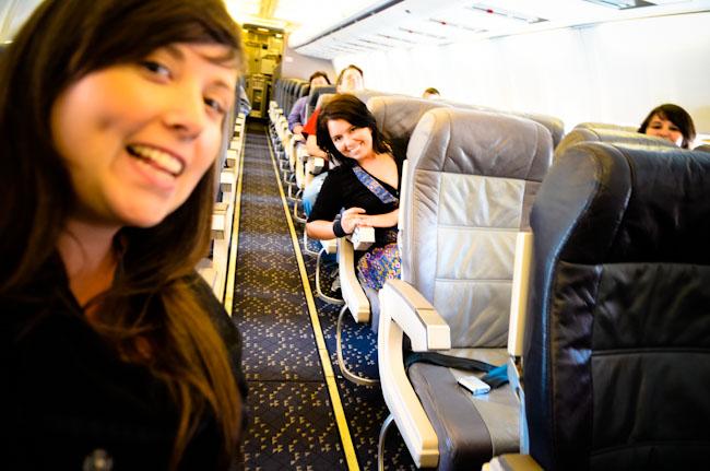 girls on a plane