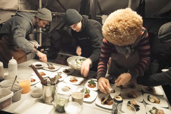 chefs plating
