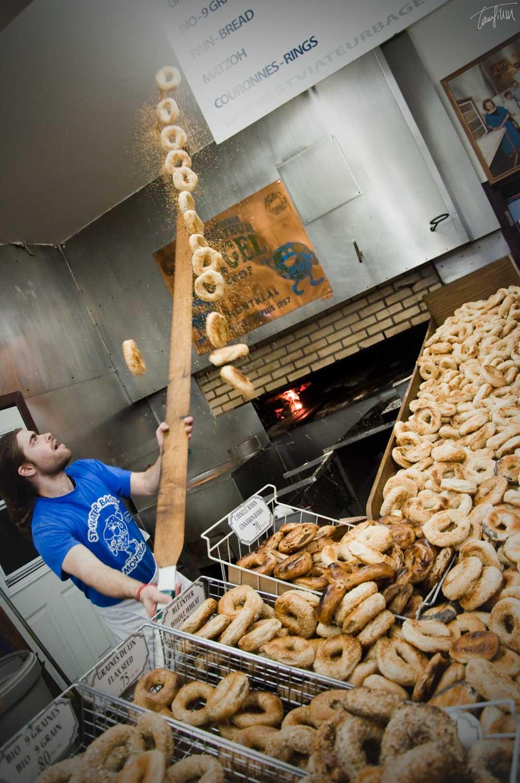 montreal bagel shop st.viateur