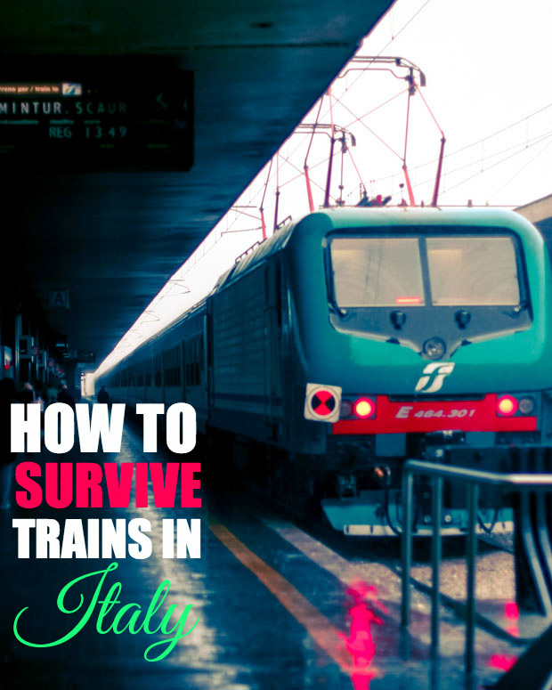 Even if you speak Italian, navigating the Italian train system are tricky and leave you with an expensive fine. Learn tips to survive trains in Italy here.