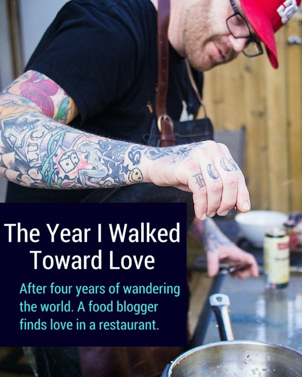chef and food blogger