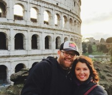 dave and I colosseum
