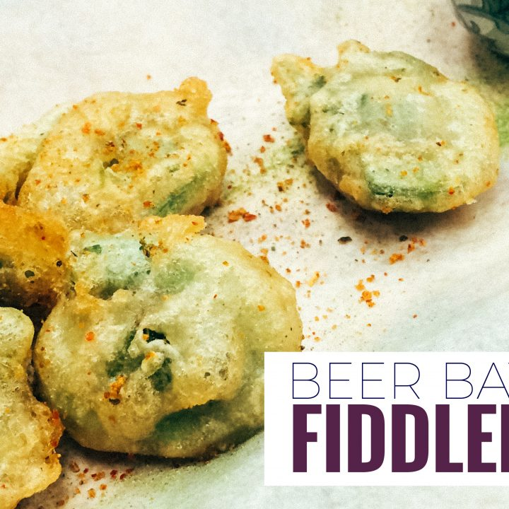 This beer battered fiddlehead recipe is easy to make and brings out the natural creamy flavor of fiddleheads.