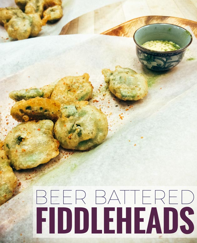Beer battered fiddleheads recipe bacon is magic the best food this beer battered fiddlehead recipe is easy to make and brings out the natural creamy flavor forumfinder Choice Image