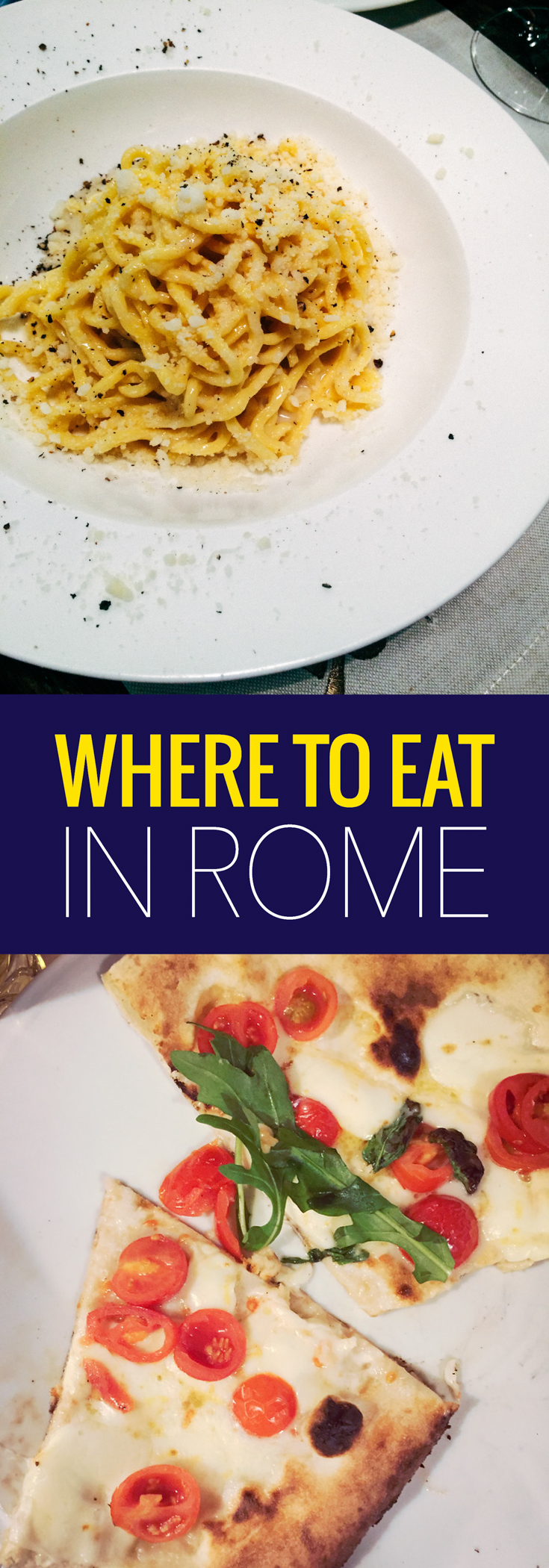 We ate an awful and amazing meal in Rome on the same day, learn what we did and where to eat in Rome.