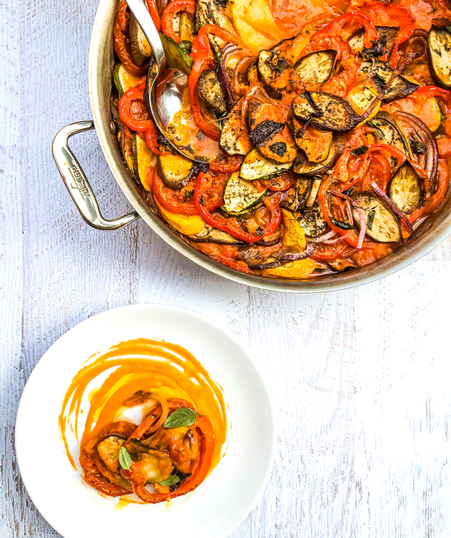 Easy one pot classic ratatouille recipe so so easy to make a classic french dish this easy ratatouille forumfinder Image collections