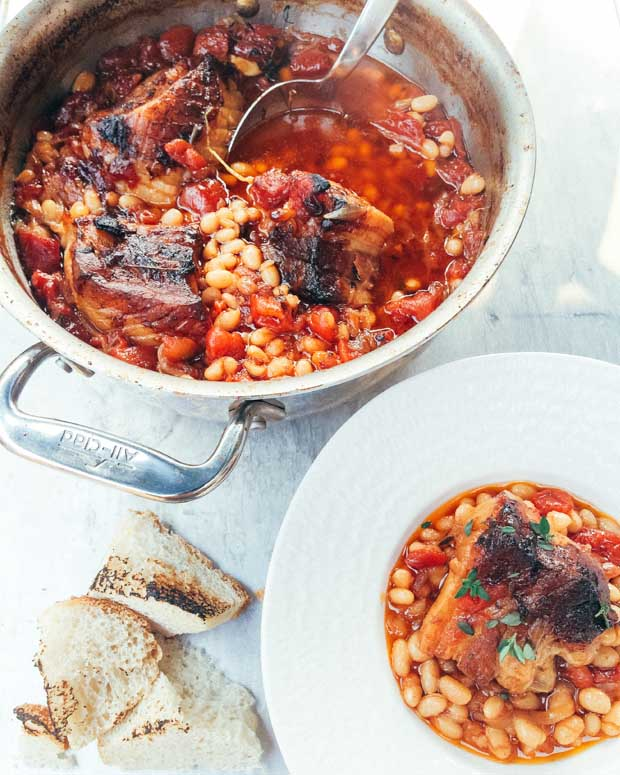 This classic French cassoulet recipe is so easy to make and perfect for a cold winter's day.