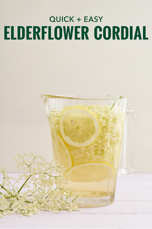 Elderflower Cordial Recipe Bacon Is Magic The Best