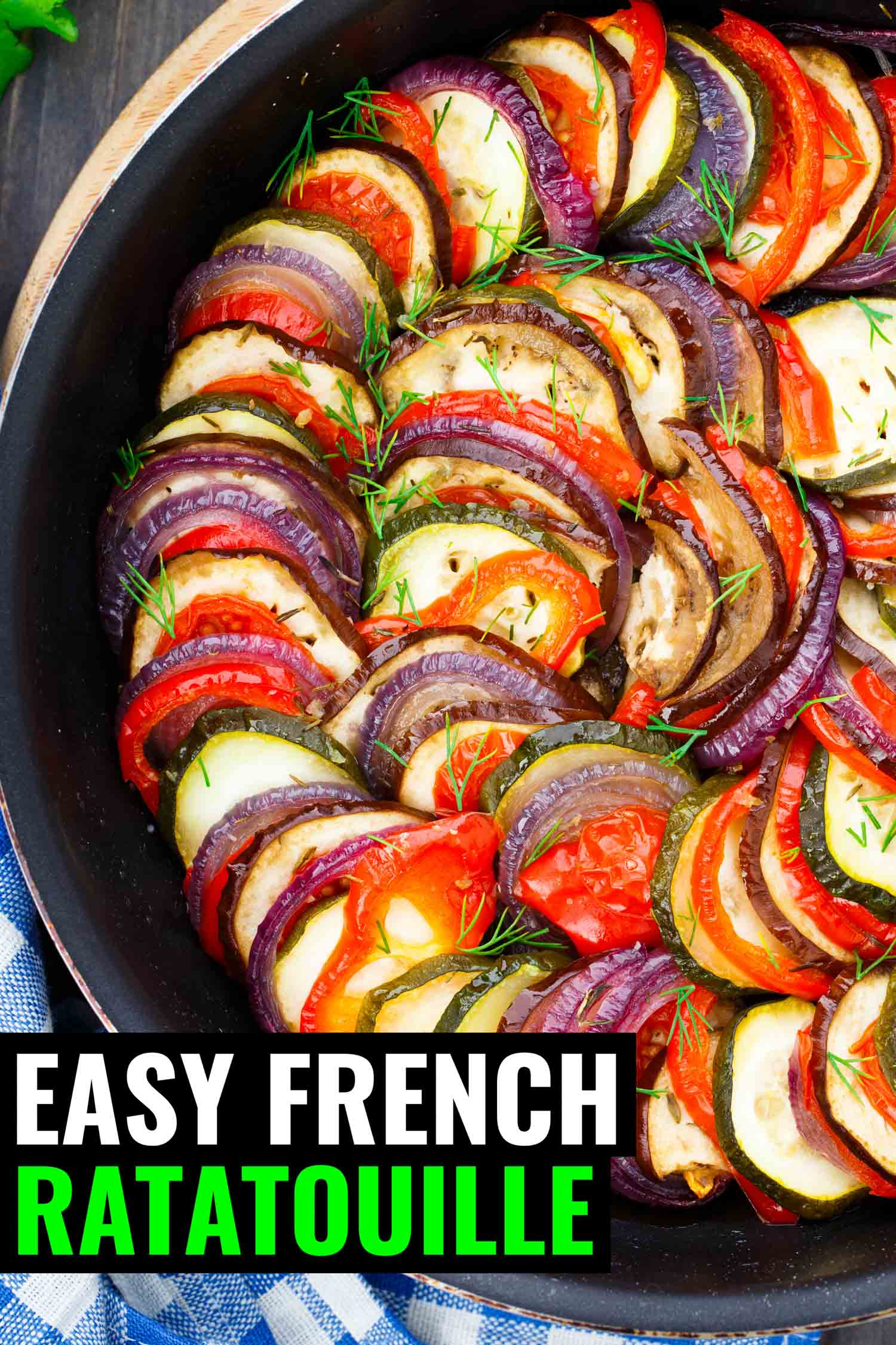 French ratatouille dish