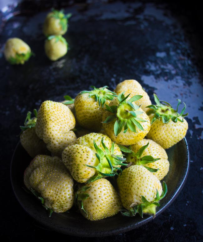 Green Strawberries are unripe and while they are too tart to eat pickled green strawberries are amazing and so easy to make.