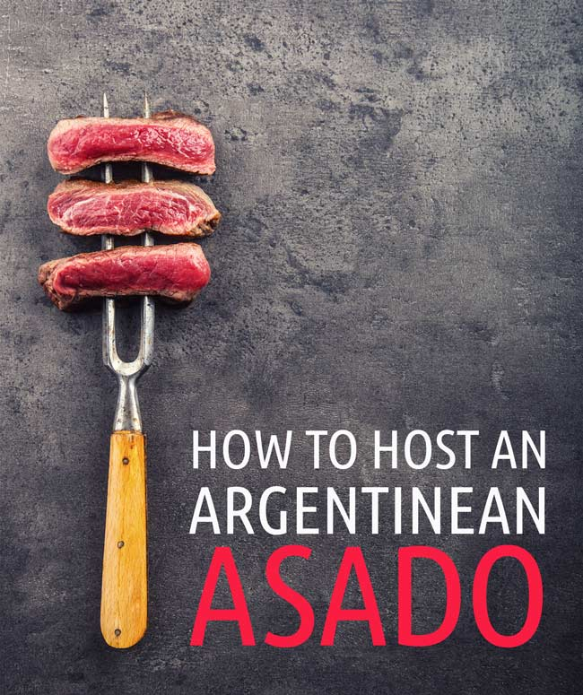 How to host an argentinean asado from how to build an argentinean barbecue to what types of meat and wine to buy.