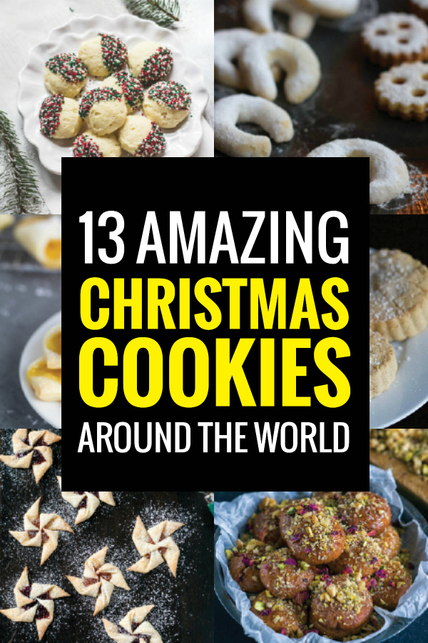 Step up your holiday cookie exchange with these delicious Christmas cookies from around the world.
