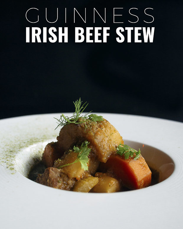 This Guinness Irish beef stew is the ultimate comfort food. So easy to make in one pot and the kind of food you want on a cold day.