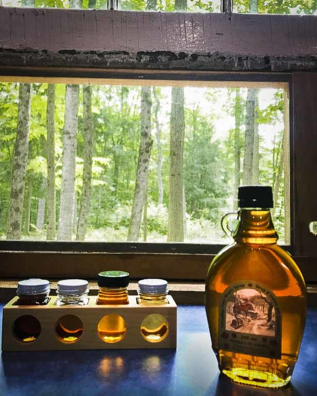 Making maple syrup is just one of the activities on the Ottawa Valley Maple Adventures Trail, which is available all year round.