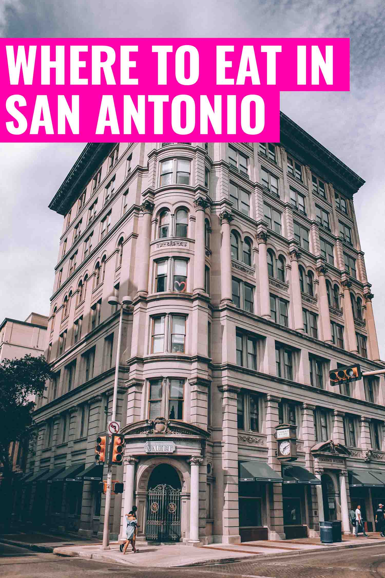Neoclassical building in San Antonio Texas