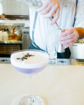 The Fairmont's Gin Sour Is the Prettiest You'll Ever Drink