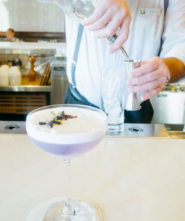 This gin sour recipe from Fairmont Empress in Victoria is one of the most beautiful you will drink.