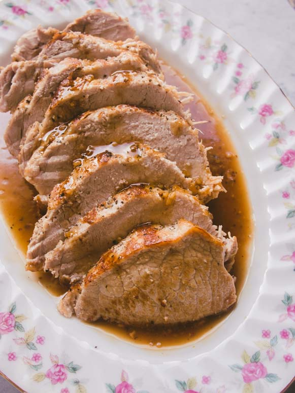 This instant pot maple glazed pork tenderloin is a family favourite and can be made in just 20 minutes.