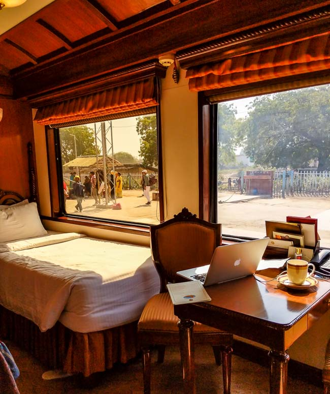 The Maharajas Express is a luxury train in India that is considered to be the best in the world.
