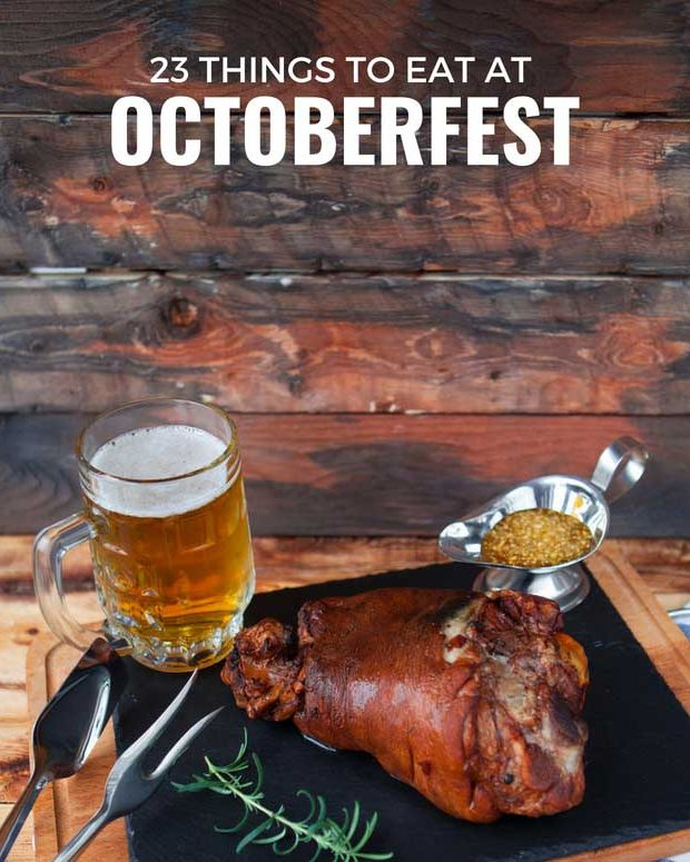 Oktoberfest Food: 23 Awesome Things to Eat
