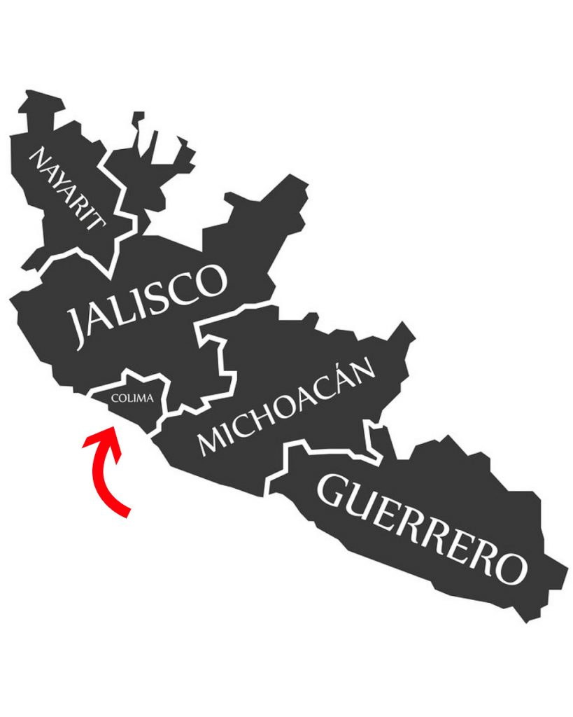 Map of Colima Mexico, learn the best things to do in Colima Mexico
