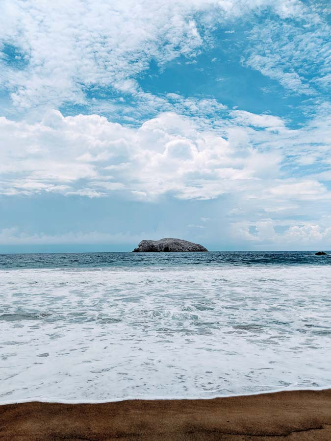 Pena Blanca in Manzanillo, Colima in Mexico is one of the best day trips from Colima City