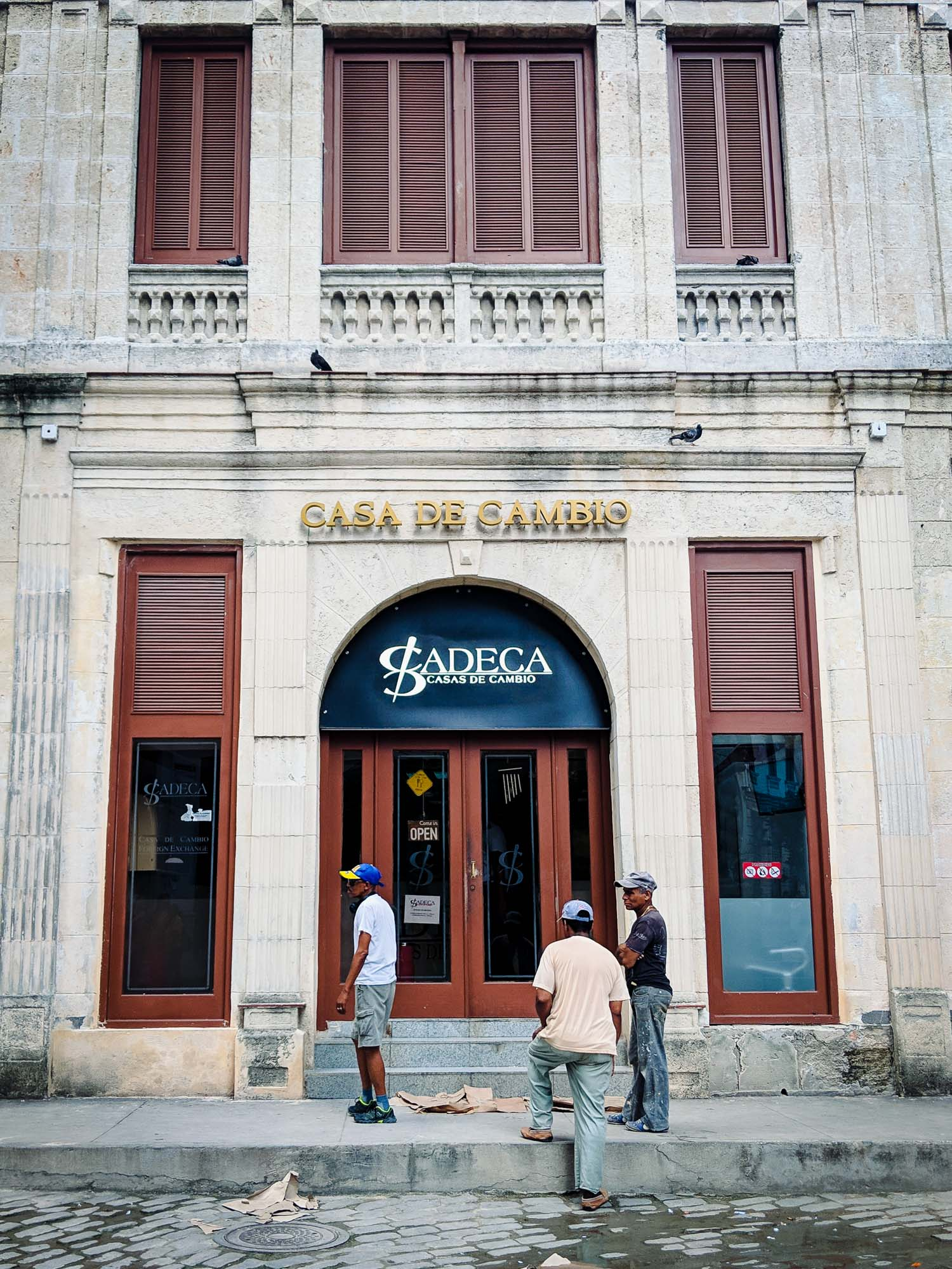 You can exchange money for Cuban currency at a Cadeca or Cuban money exchange house in Havana.