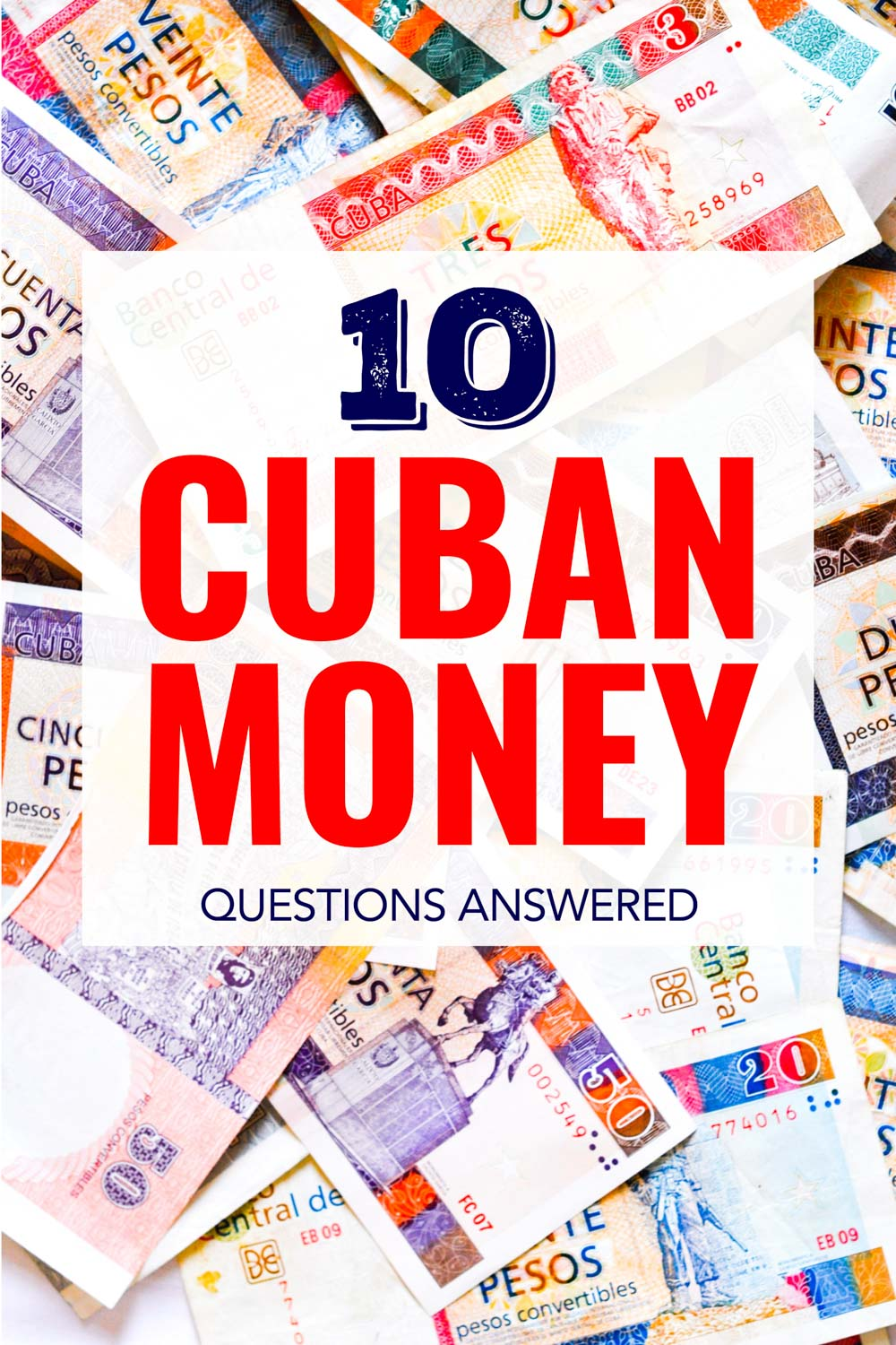 Answers to all your Cuban money questions like where to get it, will your ATM card work and what to do if you run out.