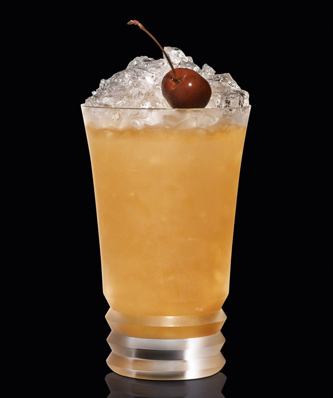 This Zombie cocktail from Bacardi rum is a great Halloween tradition.