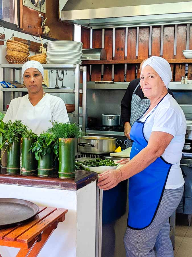 La Romero in Las Terrazas Cuba is one of the only authentic vegetarian restaurants in the country.