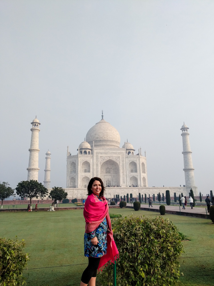 Making 2019 the Year of Joy, outside the Taj Mahal
