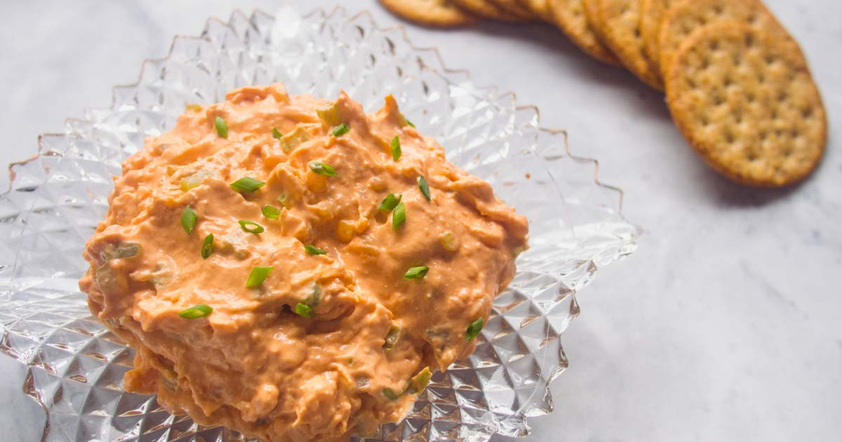 This tomato soup shrimp dip is everything you love about the 80s. Even the snobbiest of foodies can't resist this dip.