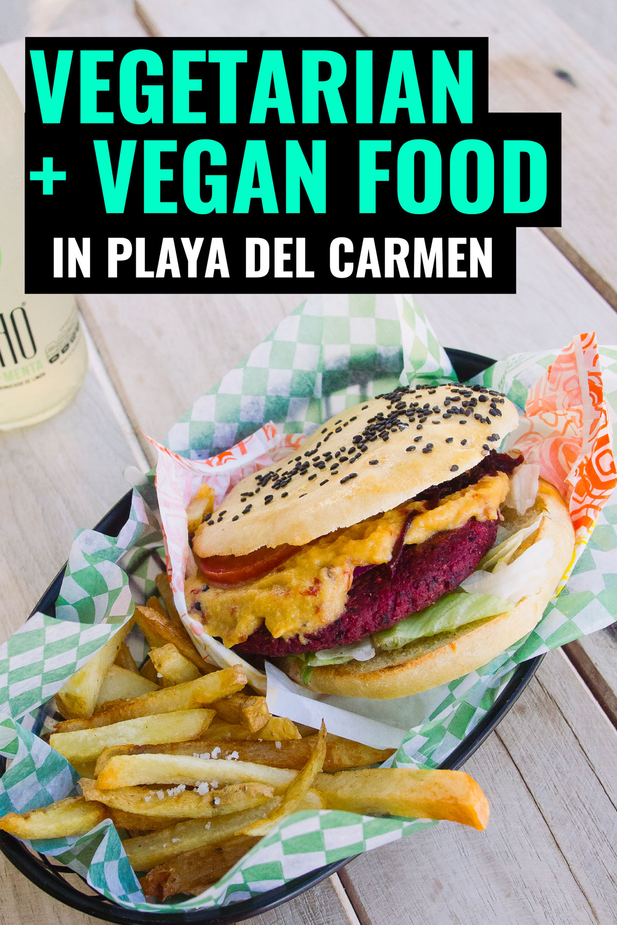Vegetarian Playa del Carmen, don't miss the best meatless restaurants in this vegetarian friendly city in Mexico.
