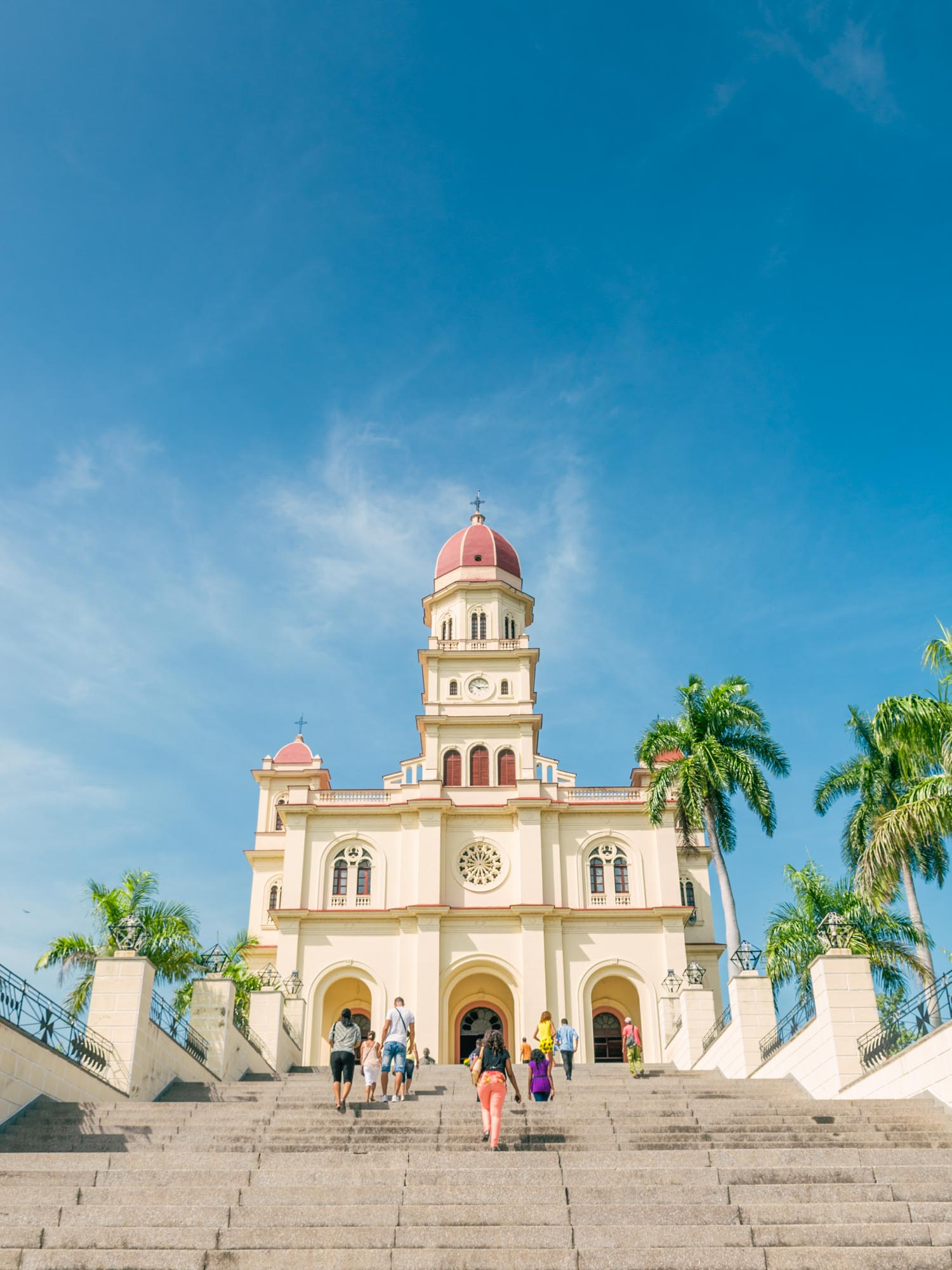 Basílica de la Vírgen del Cobre is one of the tourist spots for Hemingway in Cuba.